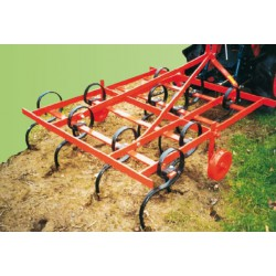 Cultivateur 11 dents flexibles - 130 cm
